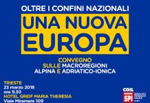 Una nuova Europa iniziativa Spi Cgil